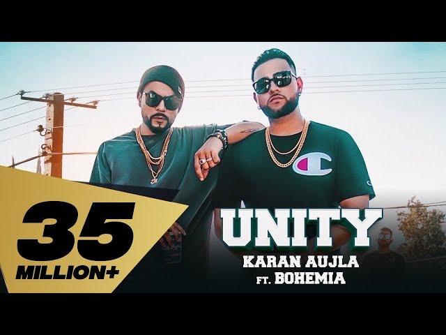 UNITY (Full Video) Karan Aujla Feat. Bohemia I Deep Jandu I Rupan Bal I Latest Punjabi Song 2018