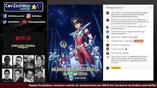 Podcast CavZodiaco: tudo sobre o novo anime dos Cavaleiros do Zodíaco pela Netflix
