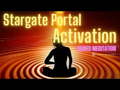 Stargate Portal Activation and Guided Meditation: Lions Gate, DNA Activation, Portal of Divine Love