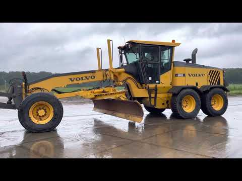 Used heavy machinery Volvo G960 Grader