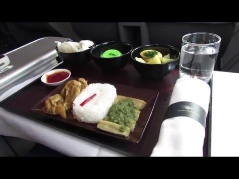 Garuda Indonesia Domestic Business Class Airbus A330-200 Medan to Jakarta