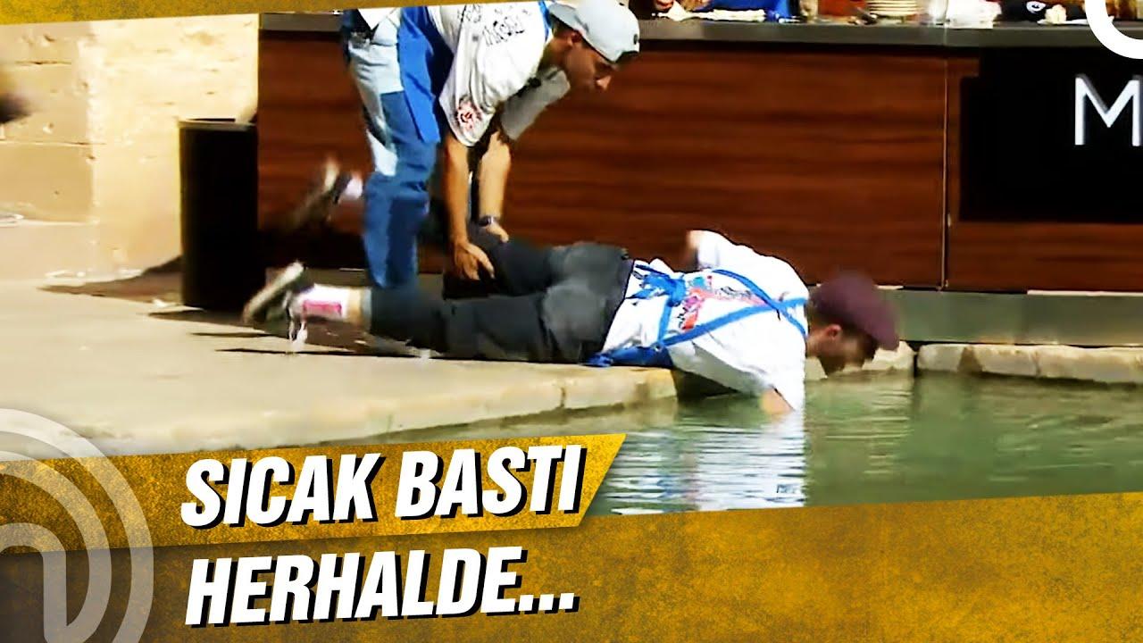 Tahsin Havuza Girdi!   MasterChef Türkiye 91. Bölüm
