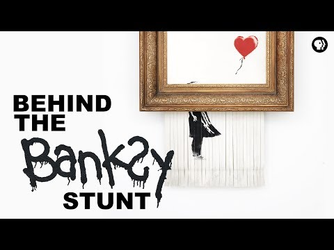 Behind the Banksy Stunt