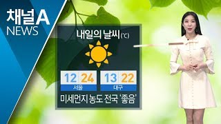 [날씨]전국 미세먼지 '좋음'…자외선 주의 thumbnail