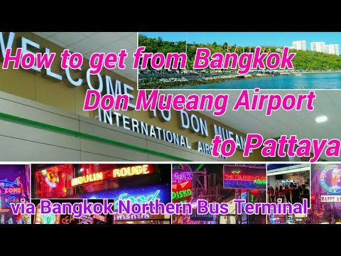 How to get from Bangkok Don Mueang Airport to Pattaya