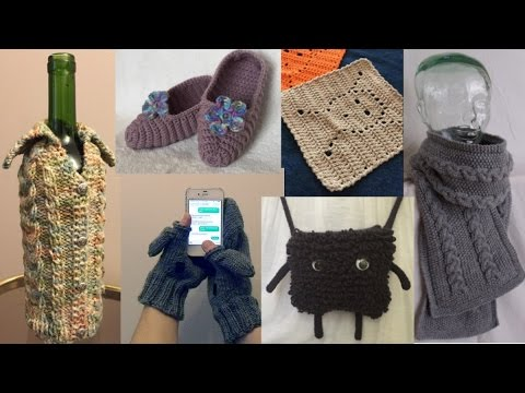 Free Knitting And Crochet Patterns Instant Downloads Youtube