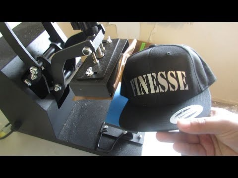 how to make custom hats with a hat press