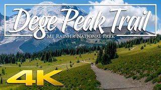 Dege Peak Mt Rainier - 4K
