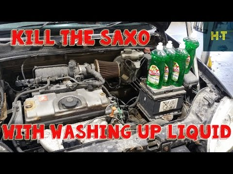 Can We KILL THE SAXO With Washing Up Liquid