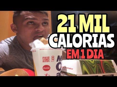 21 MIL CALORIAS EM 1 DIA