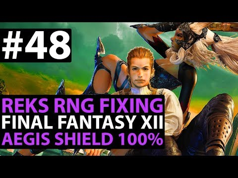 Final Fantasy 12 The Zodiac Age How To Get AEGIS SHIELD Easy (AWESOME FOR TANKS) Reks RNG Guide