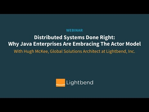 Distributed Systems Done Right: Why Java Enterprises Are Embracing The Actor Model
