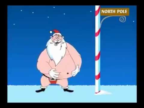 Lustiger Weihnachtsmann - YouTube