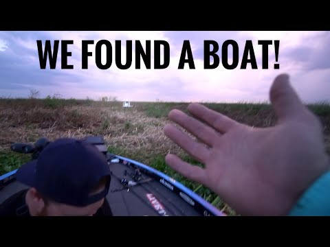 WE FOUND A BOAT!