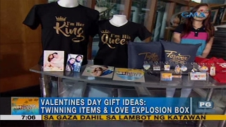 Unang Hirit: Valentine's Day gift ideas: twinning items