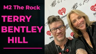 Terry Bentley Hill is our guest tonight on M2 The Rock
