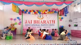 Hai friends yesterday Krosur lo jai Bharth school lo my  maradalu darling sweet heart dance  blue d.