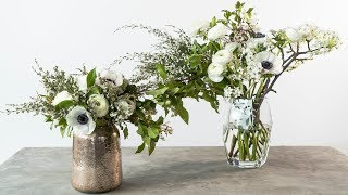 How to Make Two Arrangements with the Same Flowers | Sunset
