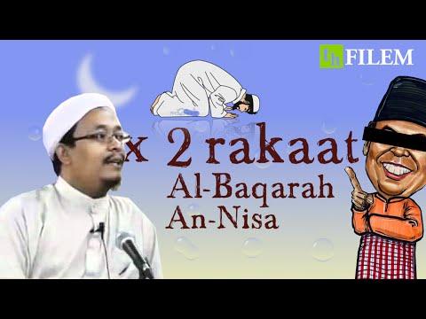 [Typography] Tarawih Nak Ikut 8 Rakaat? - Ustaz Kazim Elias (siri 43)