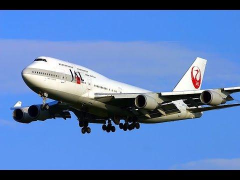 【JAL】426便(B747 パリ発アンカレッジ経由成田行 シャルルドゴール空港離陸前)