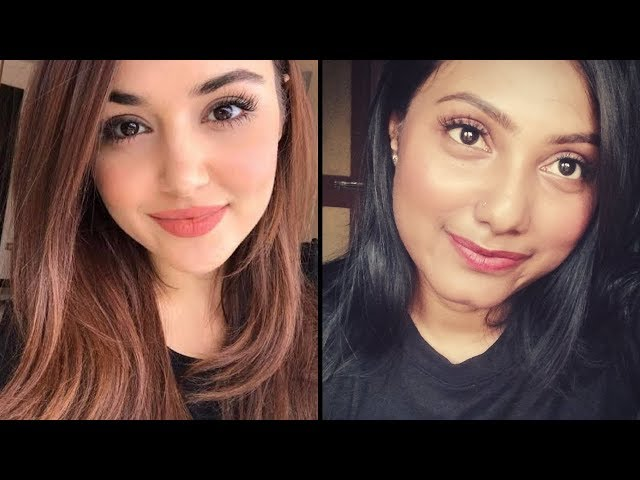 Hayat / Hande Ercel inspired makeup l Pyaar Lafzon Mein Kahan l winter makeup ll ikas makeover
