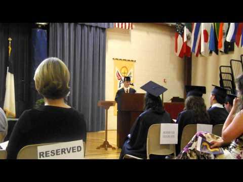 St Paul Middle School- Jacob Graduation Speech