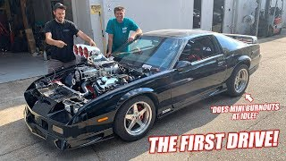 Download FIRST DRIVE In Our 10.3L Supercharged Big Block Camaro! **GRAB YOUR MULLETS** Mp3 and Videos