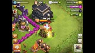 Clash of Clans (Acelerar cuartel)