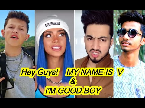 hi guys my name is v i am good boy tik tok   hi guys my name is v i am good boy tik tok video