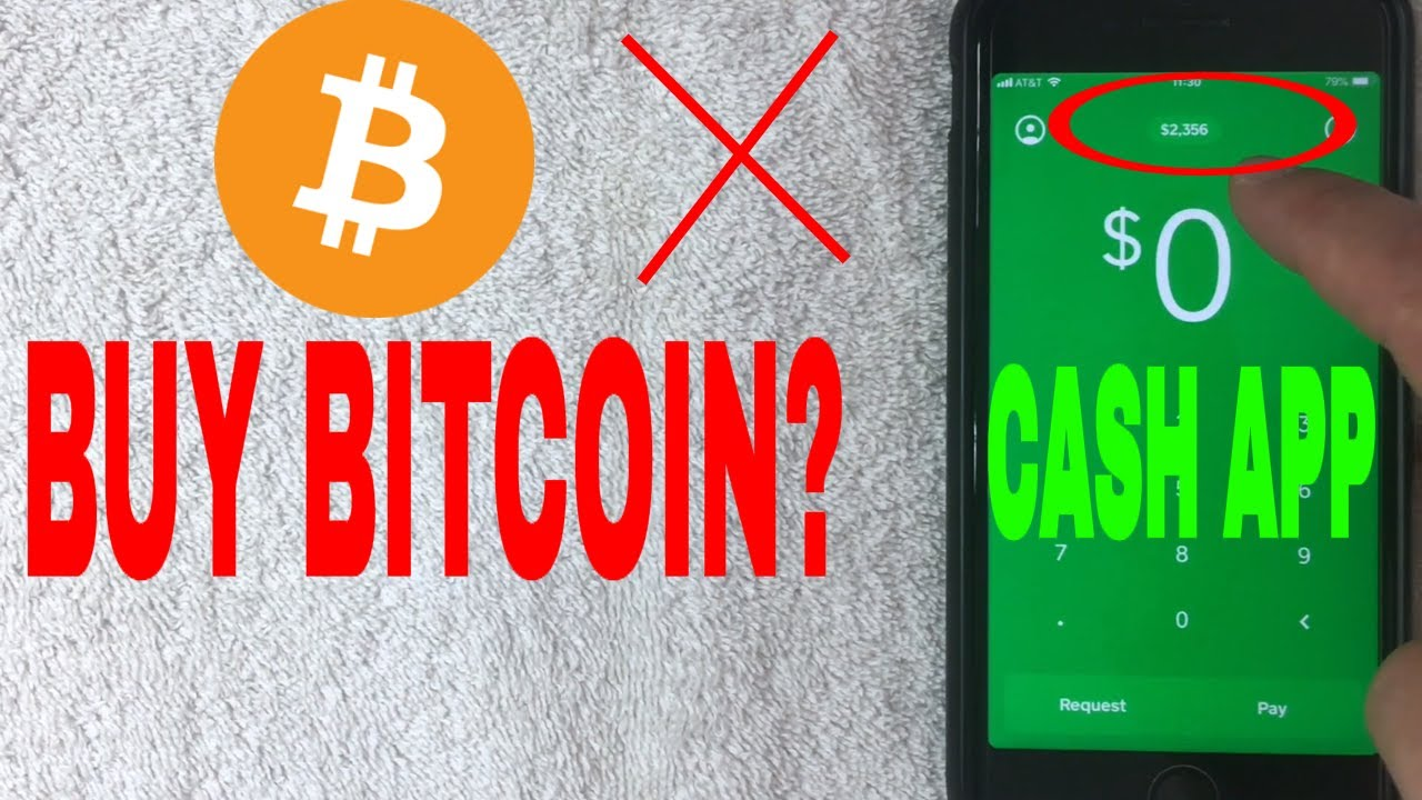 How To Buy Bitcoin With Cash App 🔴 - YouTube