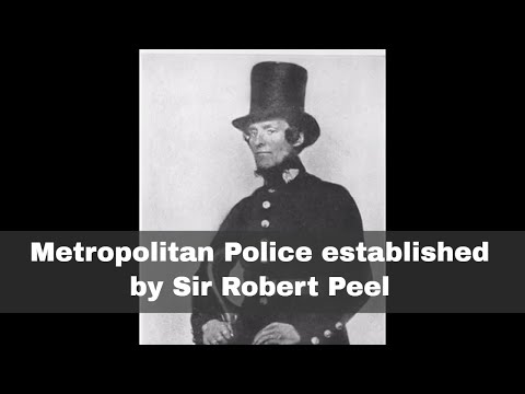 the metropolitan police act of 1829 The police forces of united kingdom is basically divided into two sections such as the greater london's metropolitan police service and the city of london police the british police hierarchy is organized in accordance with the metropolitan police act of 1829.