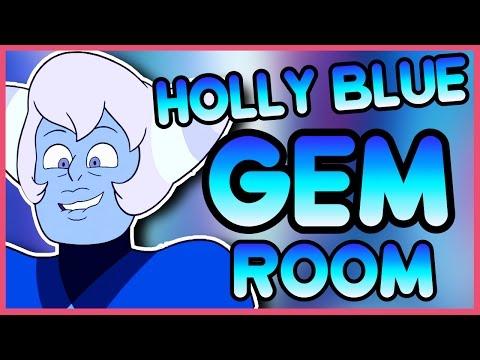 Holly Blue Agate's Gem Room - Steven Universe Speedpaint