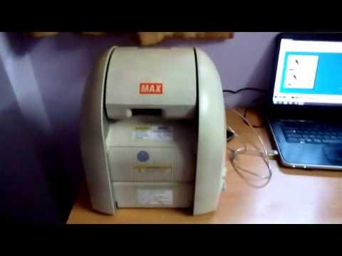 Sticker and Label Printing Machine