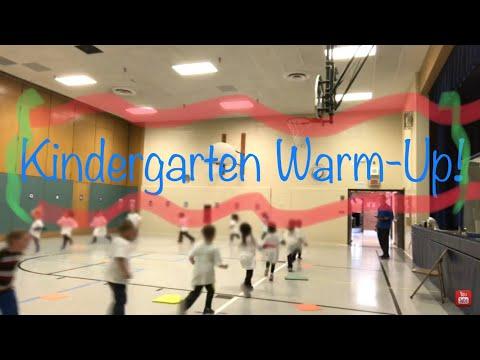Kindergarten P.E. Warm Up