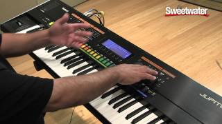 Roland Jupiter-50 SuperNATURAL Performance Synthesizer Demo - Sweetwater Sound