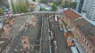 Строительство музея истории на Ильинской площади