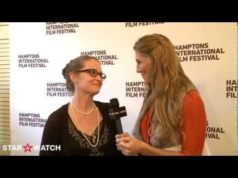 Melissa Leo red carpet interview at 20th annual Hamptons International Film Festival