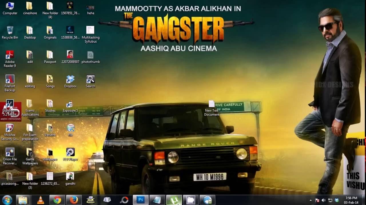 Gangster malayalam movie poster