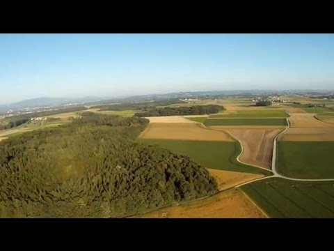 RC flying on a warm and sunny day (25.09.2013) Lower Bavaria Germany