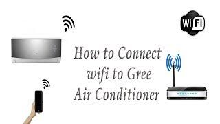 comment faire pour se connecter en wifi au gree ac