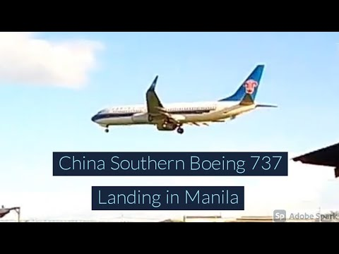 A Chinese landing and a Philippine take off