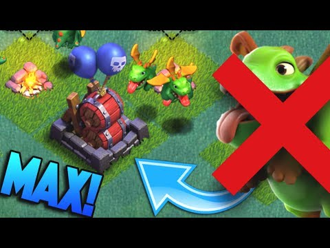 BEST ANTI BABY DRAGON DEFENSE IN CLASH OF CLANS MAXED OUT!