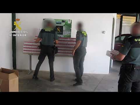 Incautación de tabaco ilegal por la Guardia Civil de Córdoba