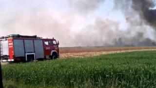 Pożar w Boguniewie! Dojazd 4 zastępów Straży Pożarnej [Hit!]