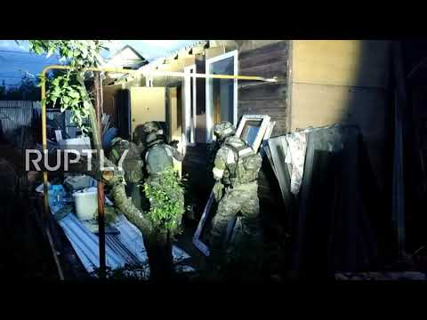 Russia: FSB raids home in Moscow Region in anti-militant operation ▶1:00