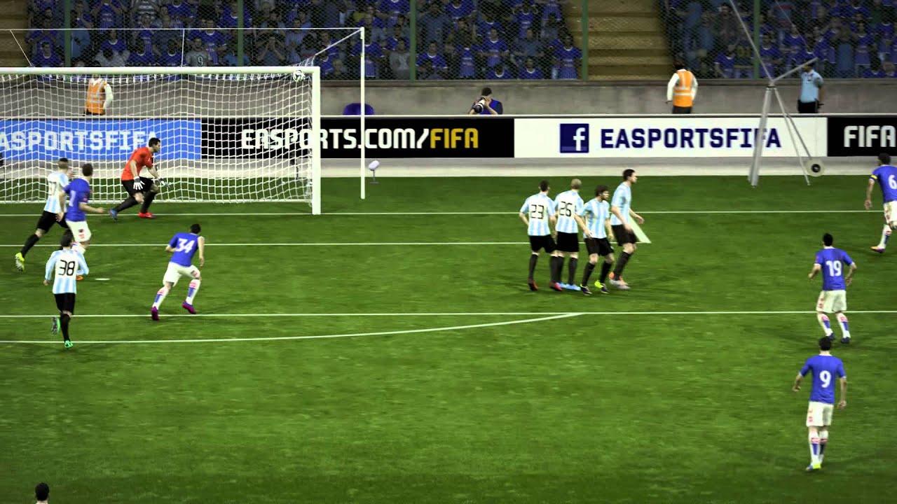 Esteban paredes free kick goal fifa 15 youtube for Esteban paredes fifa 18