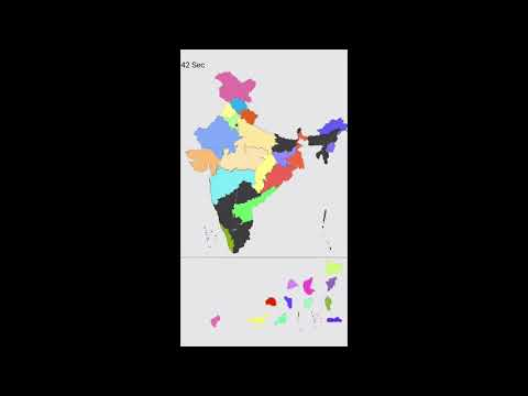 India Map Puzzle Game