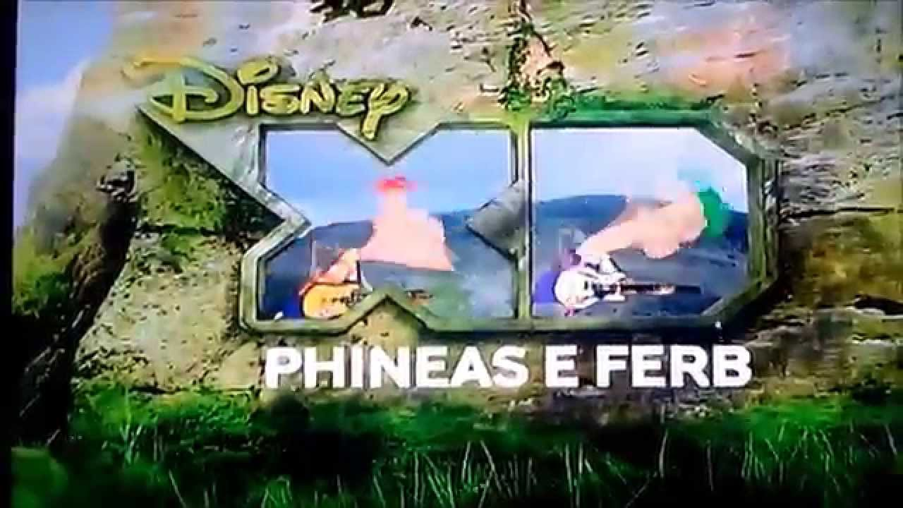 Disney Xd Bumpers 1 : Bumpers phineas e ferb disney xd brasil youtube