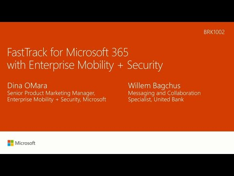 Accelerate your Enterprise Mobility + Security (EMS) deployment with FastTrack for Microsoft