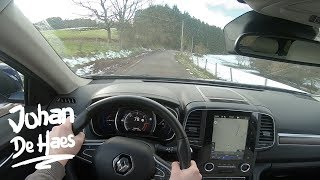 2018 Renault Koleos dCi 175 X-Tronic POV test drive